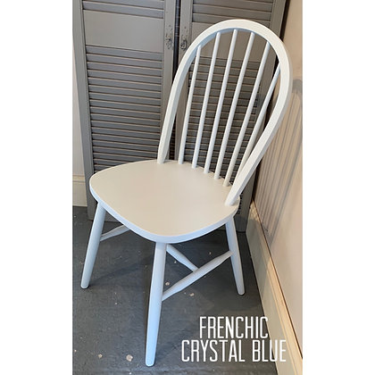 Mismatched Painted Chair - Crystal Blue - Pale Blue