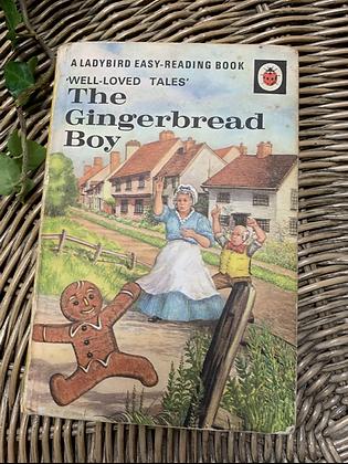 Vintage Lady Bird Book -The Gingerbread Boy