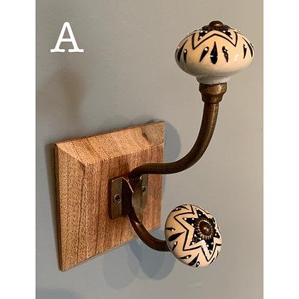 Single Ceramic Hook (A)
