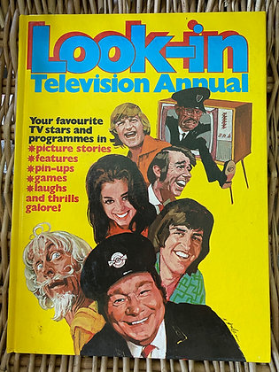 Vintage Look-In Television Annual