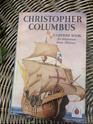 Vintage Lady Bird Book - Christopher Columbus