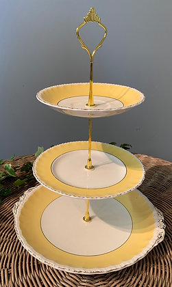Vintage Three Tier Cake Stand (A)