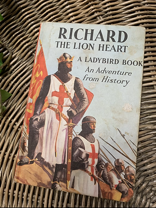 Vintage Lady Bird Book - Richard the Lion Heart