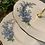 Thumbnail: Forget me Not Vintage Two Tier Cake Stand (H)