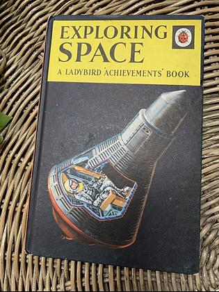 Vintage Lady Bird Book - Exploring Space