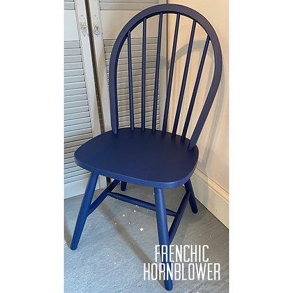 Mismatched Painted Chair - Hornblower - Blue