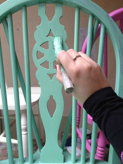 Hand Painting Chairs