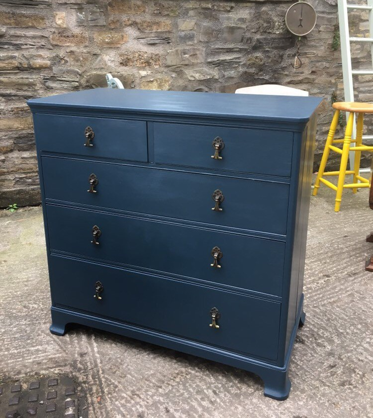 Hague Blue - Chest of Drawers