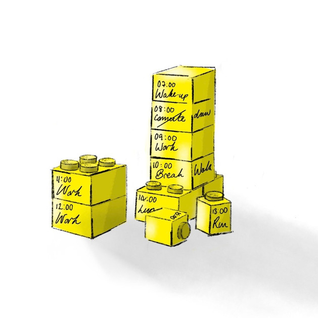 A Block Calendar