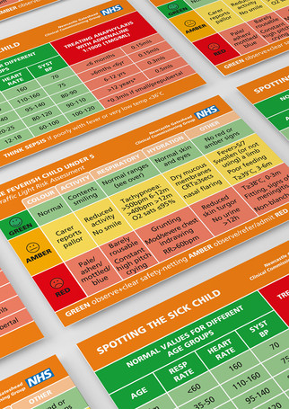 The Little Orange Book Sickness cards
