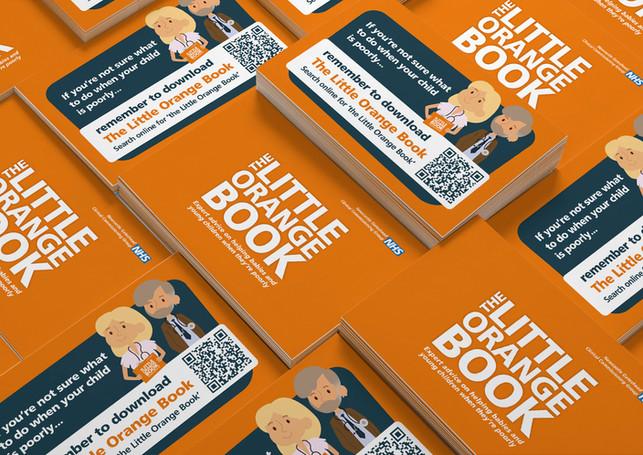 The Little Orange Book Promo Cards