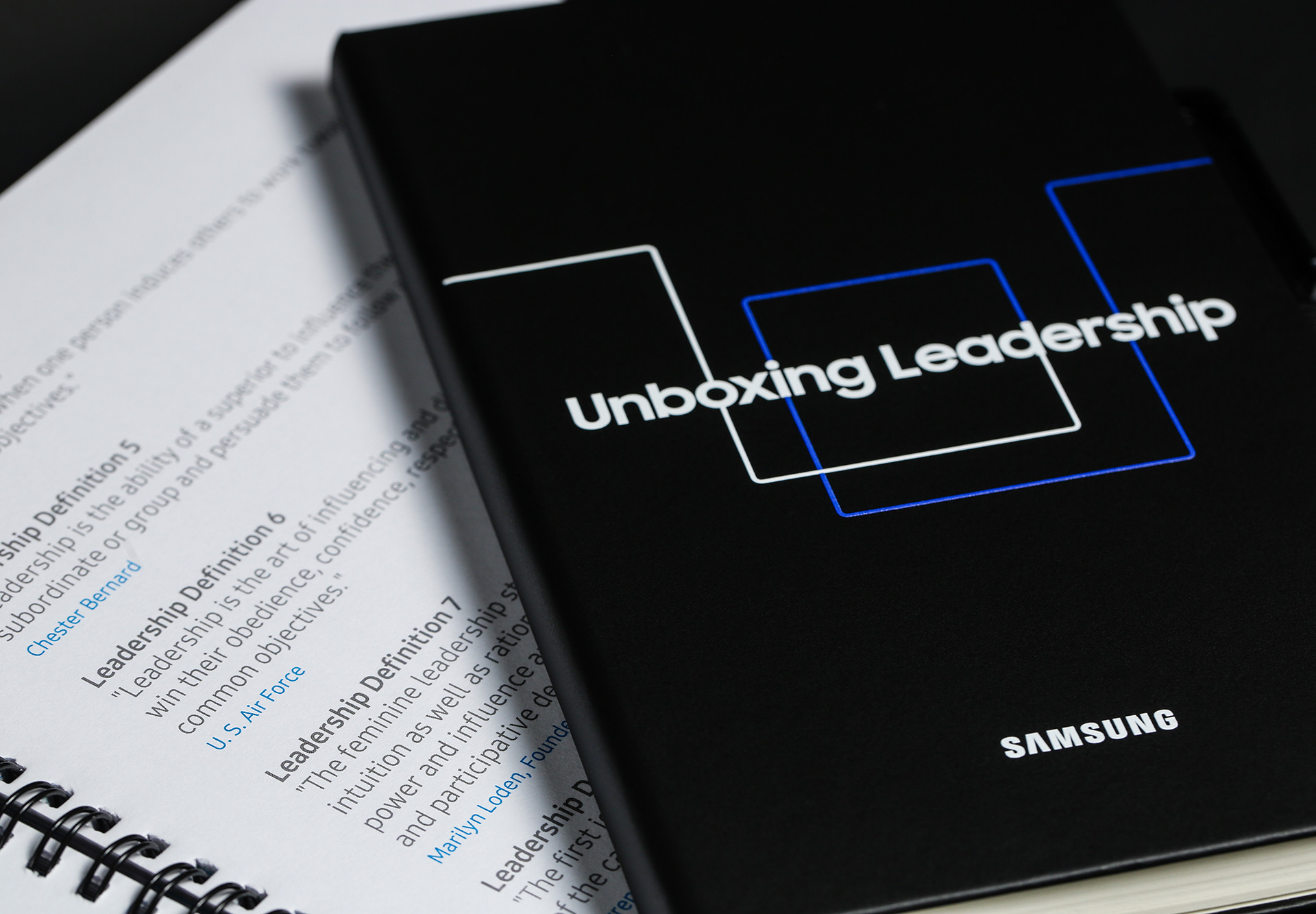 Samsung Unboxing Leadership