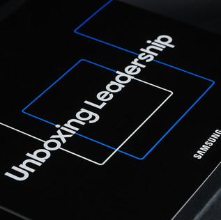 Samsung Unboxing Leadership