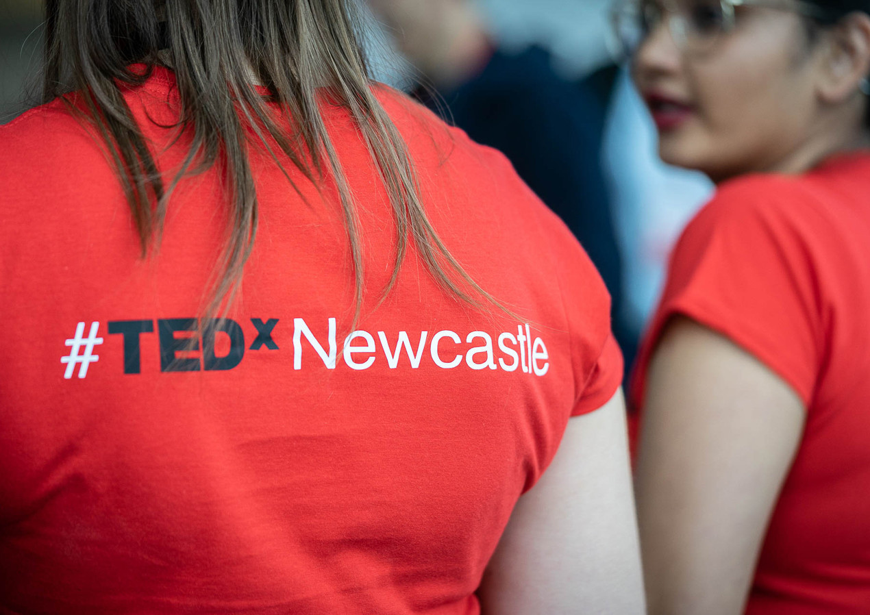 TEDx Newcastle T-shirts