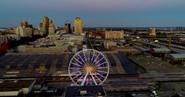The St Louis skyline.