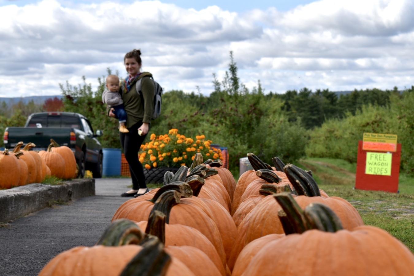 Banker Orchards 2019_K.C. pumpkin patch