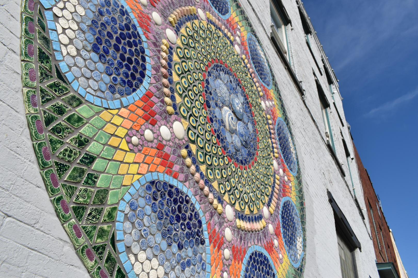 Downtown Plattsburgh 2_Mandala Mural