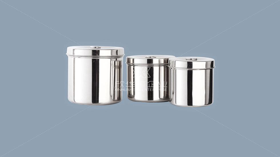 不锈钢纱布罐