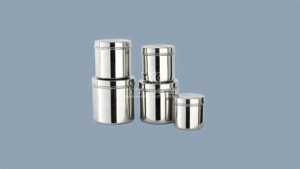 不锈钢药膏罐