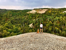 REEVE'S RAVINE TO BALD HILL