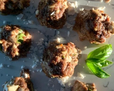 Feta Lamb Meatballs