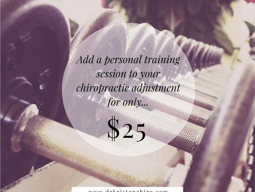 Personal Training Anyone?