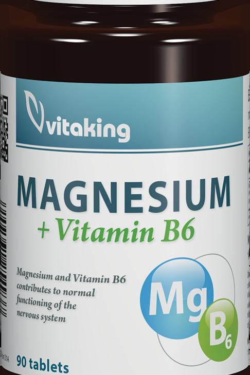Магний +В6 150мг магния 90 таблеток