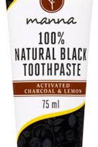 Чёрная зубная паста