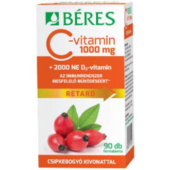 Витамин С 1000мг с витамином D 2000 90 таб.