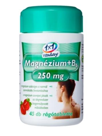 Магний+В6 жевательные таблетки со вкусом клубники
