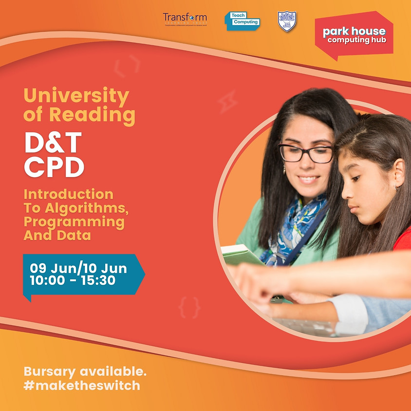 Introduction To Algorithms, Programming And Data For D&T Teachers (Over 2 Days)