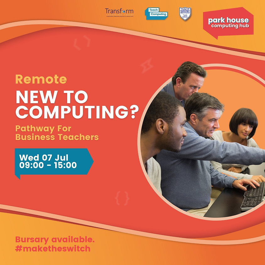 New To Computing Pathway For Business Teachers - Remote