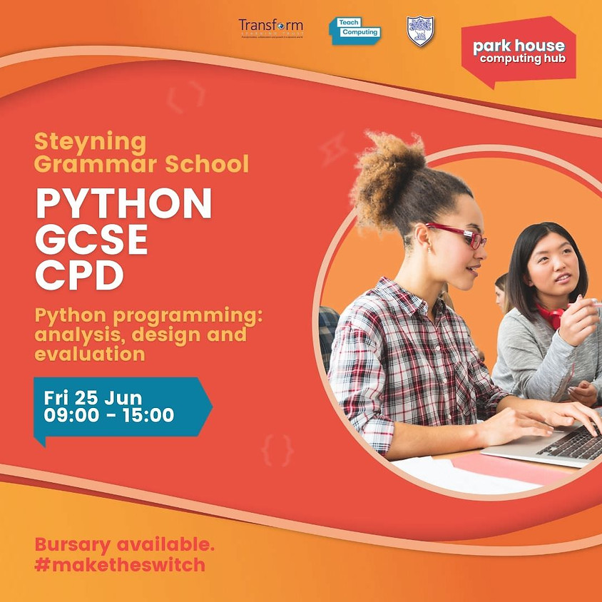 Python programming: analysis, design and evaluation - face to face