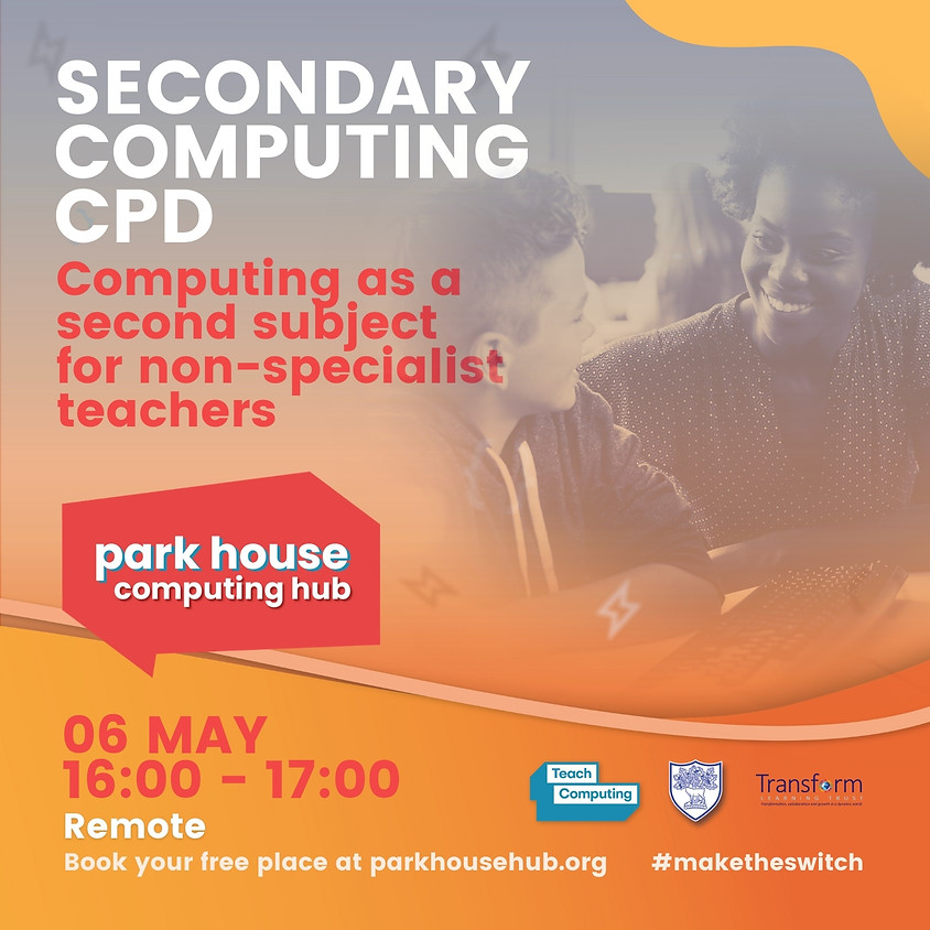 Computing As A Second Subject For Non-Specialist Teachers