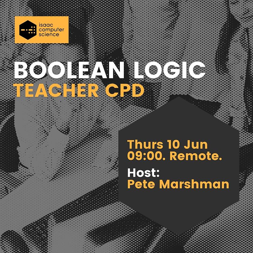 Boolean Logic - Teacher CPD