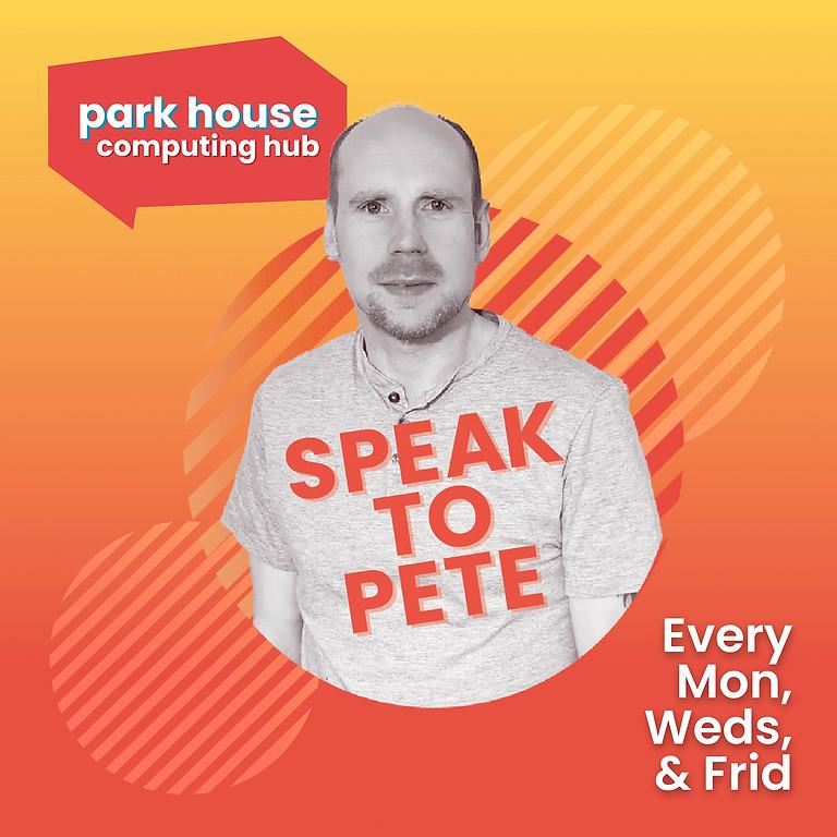 Speak To Pete