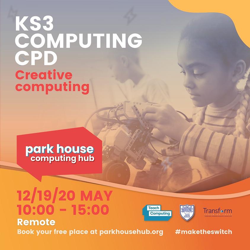Creative Computing For KS3: (Across 3 Days)