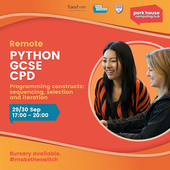 Python Programming Constructs: Sequencing, Selection and Iteration Remote