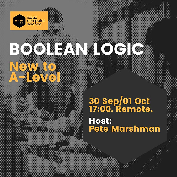 Boolean Logic - New to A Level