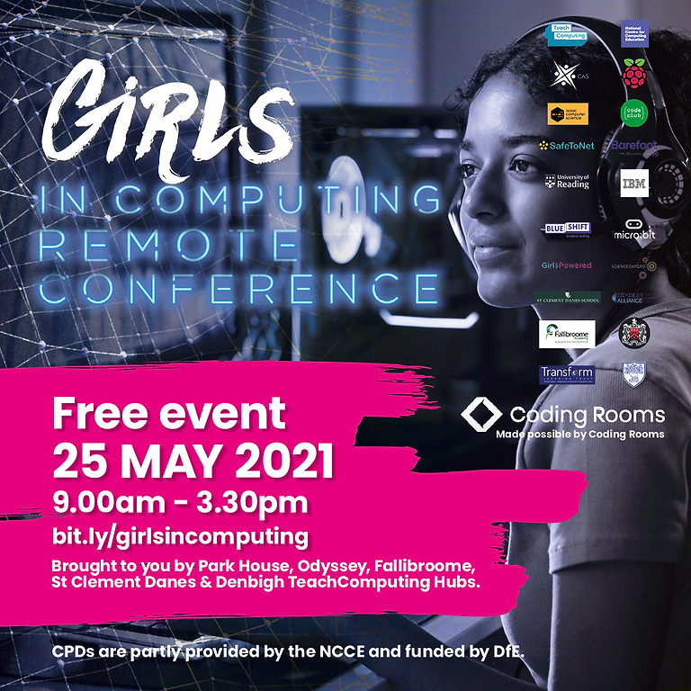 Girls In Computing Conference FREE EVENT