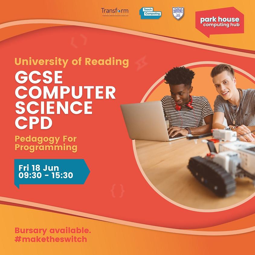 Teaching GCSE Computer Science Pedagogy For Programming