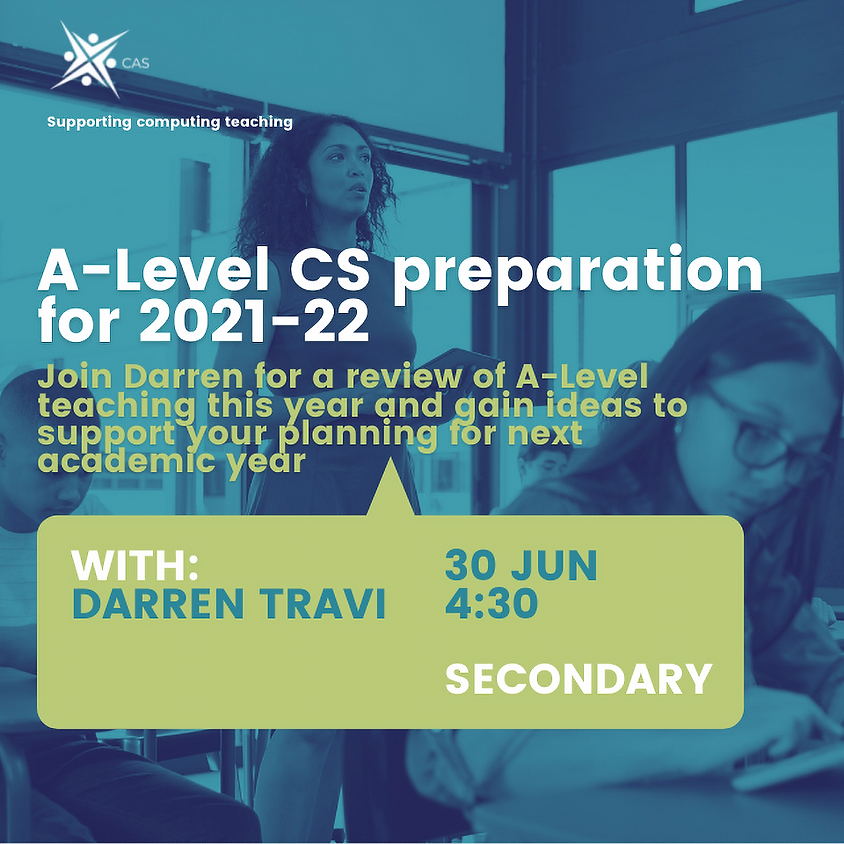 CAS Event: A-Level Preparation For Next Academic Year