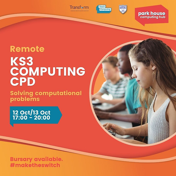 Solving Computational Problems In KS3 Computing: Remote Over Two Days