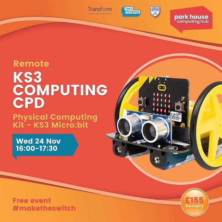 Physical Computing Kit - KS3 Microbit
