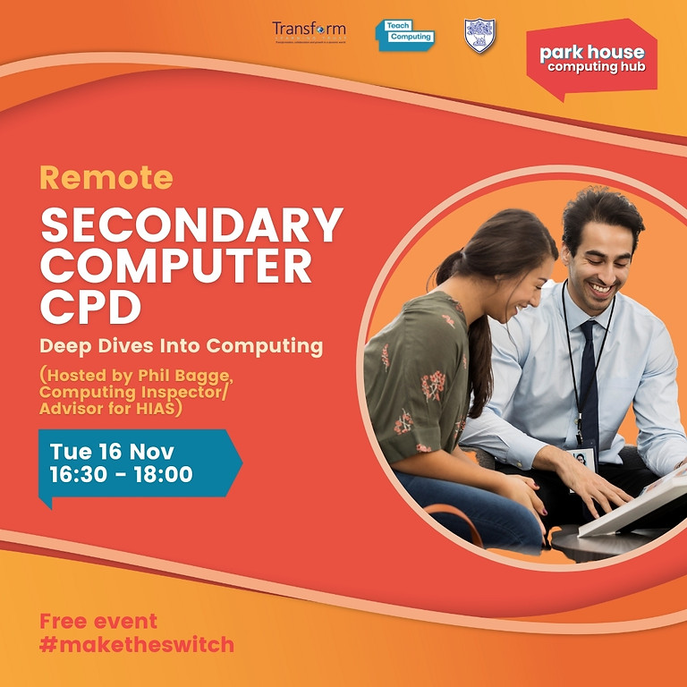 Deep Dives Into Computing - Secondary Computing CPD: Remote