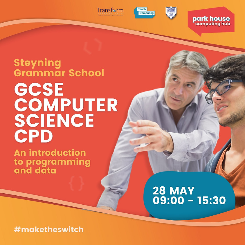 An introduction to algorithms, programming and data in GCSE computer science - face to face