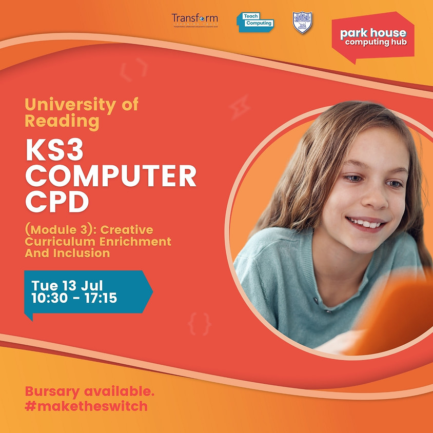 KS3 Computing (Module 3): Creative Curriculum Enrichment And Inclusion