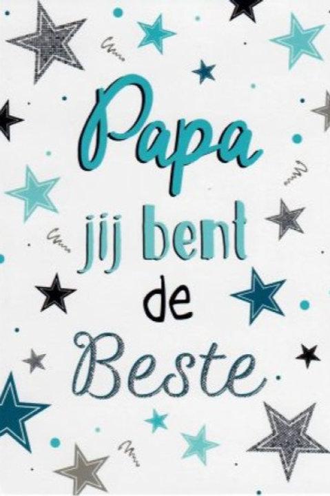 Papa jij bent de beste!