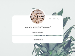 Are you scared of hypnosis?