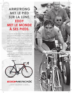 Eddy Merckx Cycles advertising